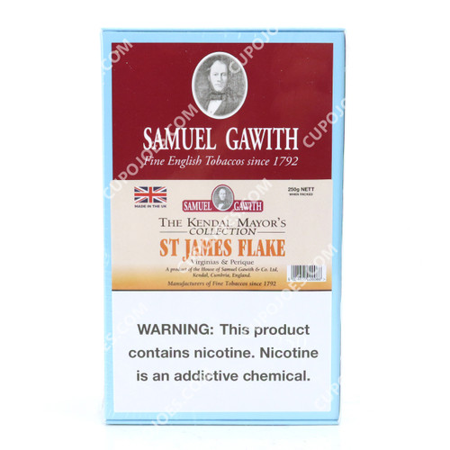 Samuel Gawith St. James Flake 250g Box