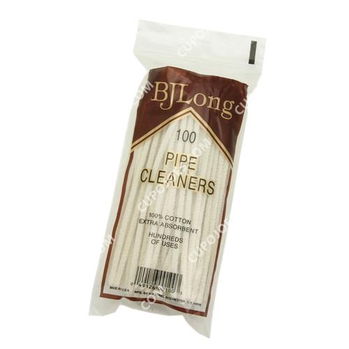 BJ Long Standard Pipe Cleaner Pack of 100