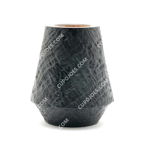 Radiator Pipe Bowl Black Sandblast Volcano