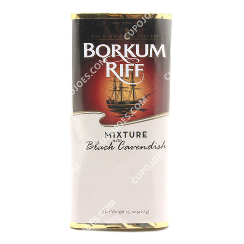 Borkum Riff Mixture Black Cavendish 1.5 Oz Pouch