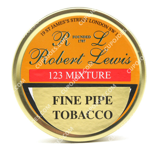 Robert Lewis 123 Mixture 50g Tin