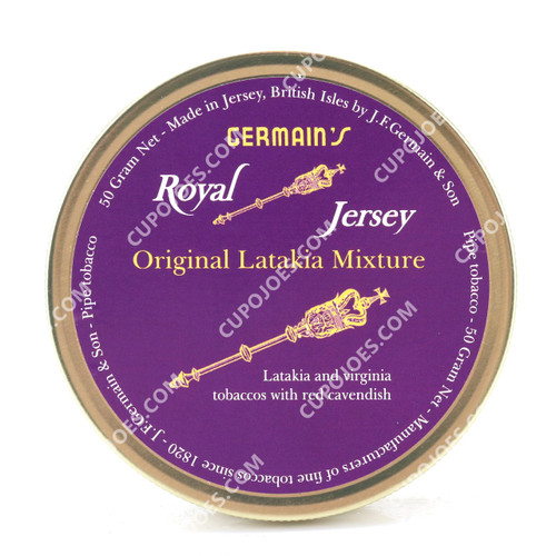 Germain's Royal Jersey Latakia 50g Tin (998071220352)