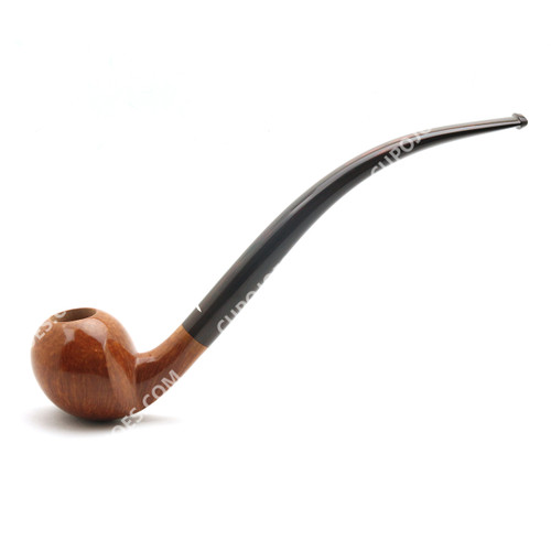 Baldo Baldi Smooth Grade 10 Churchwarden Pipe #GR10CW