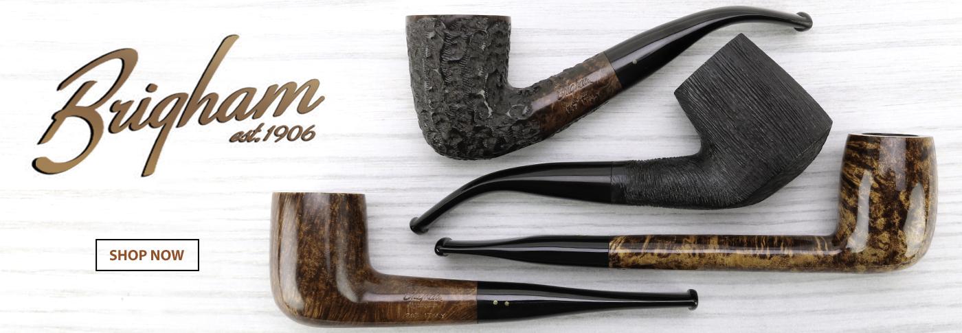 Handmade tobacco pipes