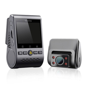 Viofo A129 Duo IR Front And Interior Dual Dash Cam 5GHz Wi-Fi Full HD 1080P For Uber or Ride share