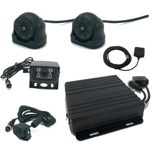 MDVR Commercial Black box with GPS 400 hours and 4 Camera