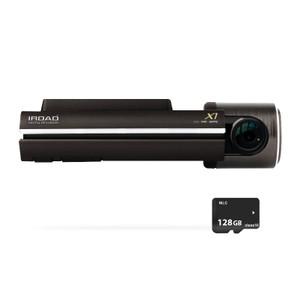 IROAD X1 Full HD 1080P 60FPS Dash Cam with 128GB Memory Card