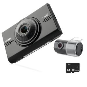 IROAD TX9 2CH Full HD In Car Dash Cam With 64GB Memory Card