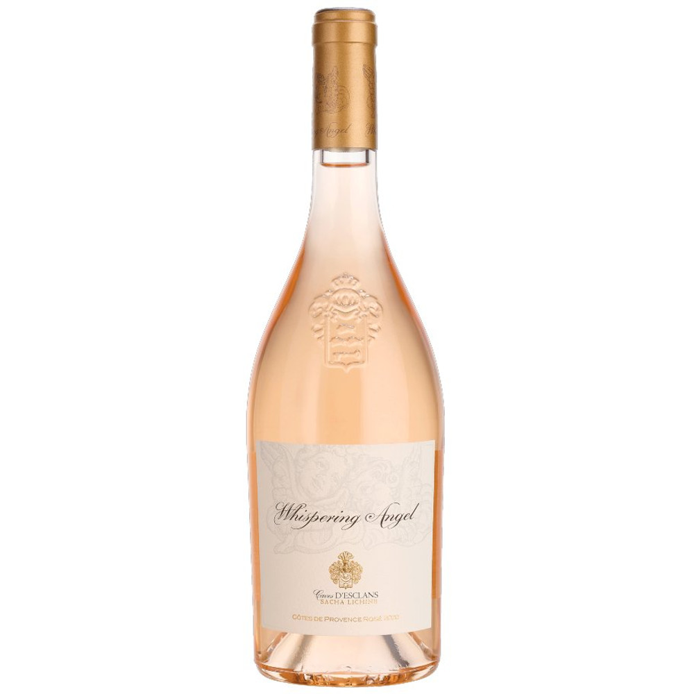Whispering Angel Rose, from grapes grown on the Cotes Du Provence