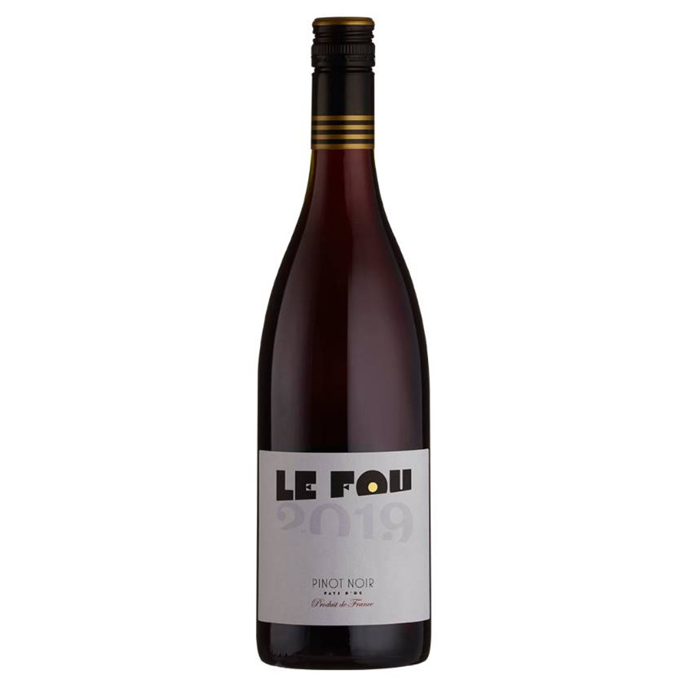 'Le Fou' translates as 'The Madman', as it has long been thought only a madman would try to produce the perfect Pinot Noir red wine in southern France. Perfection achieved, myth dispelled.