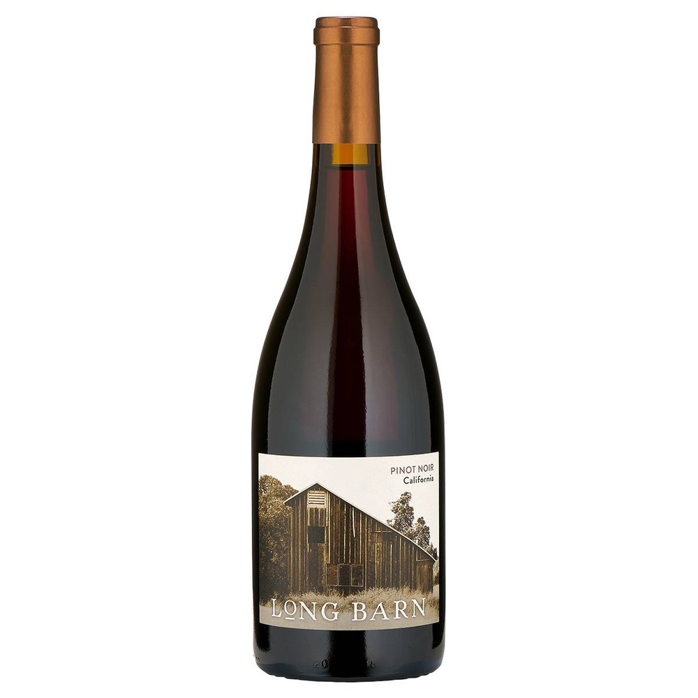 A pale ruby red Pinot Noir wine from the Napa Valley in California, USA