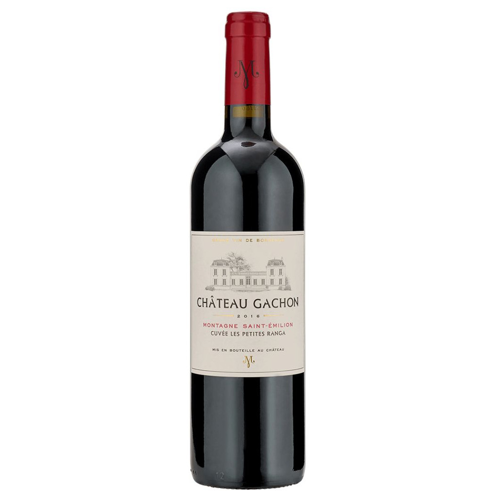 A typical Claret blend of Merlot, Cabernet Franc and Cabernet Sauvignon from Chateau Gachon in Brodeaux, France