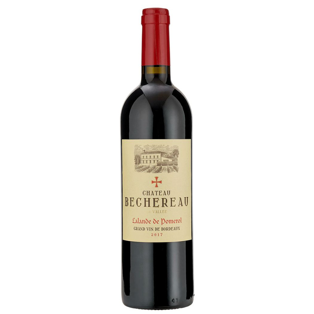 Chateau Bechereau a classic, full-bodied claret red wine from Bordeaux, France
