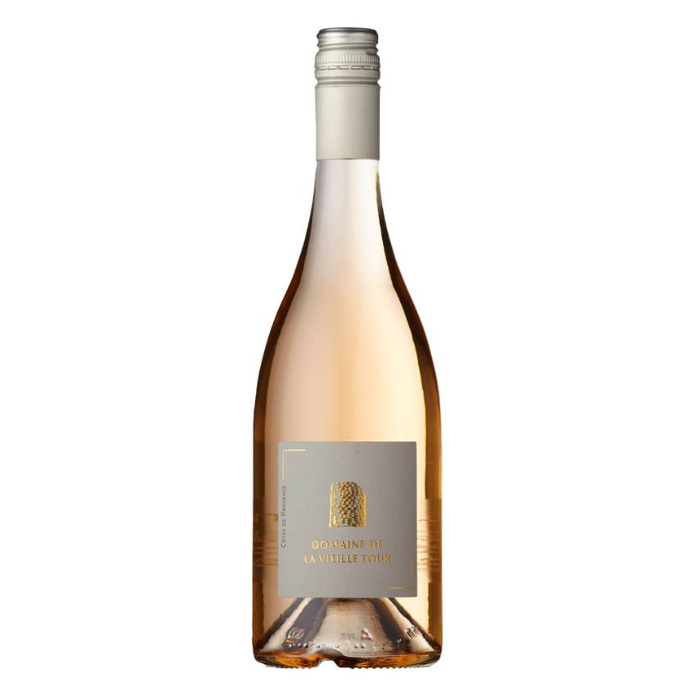 A perfect, pale, raspbery-pink rose wine from Cotes de Provence that is very drinkable
