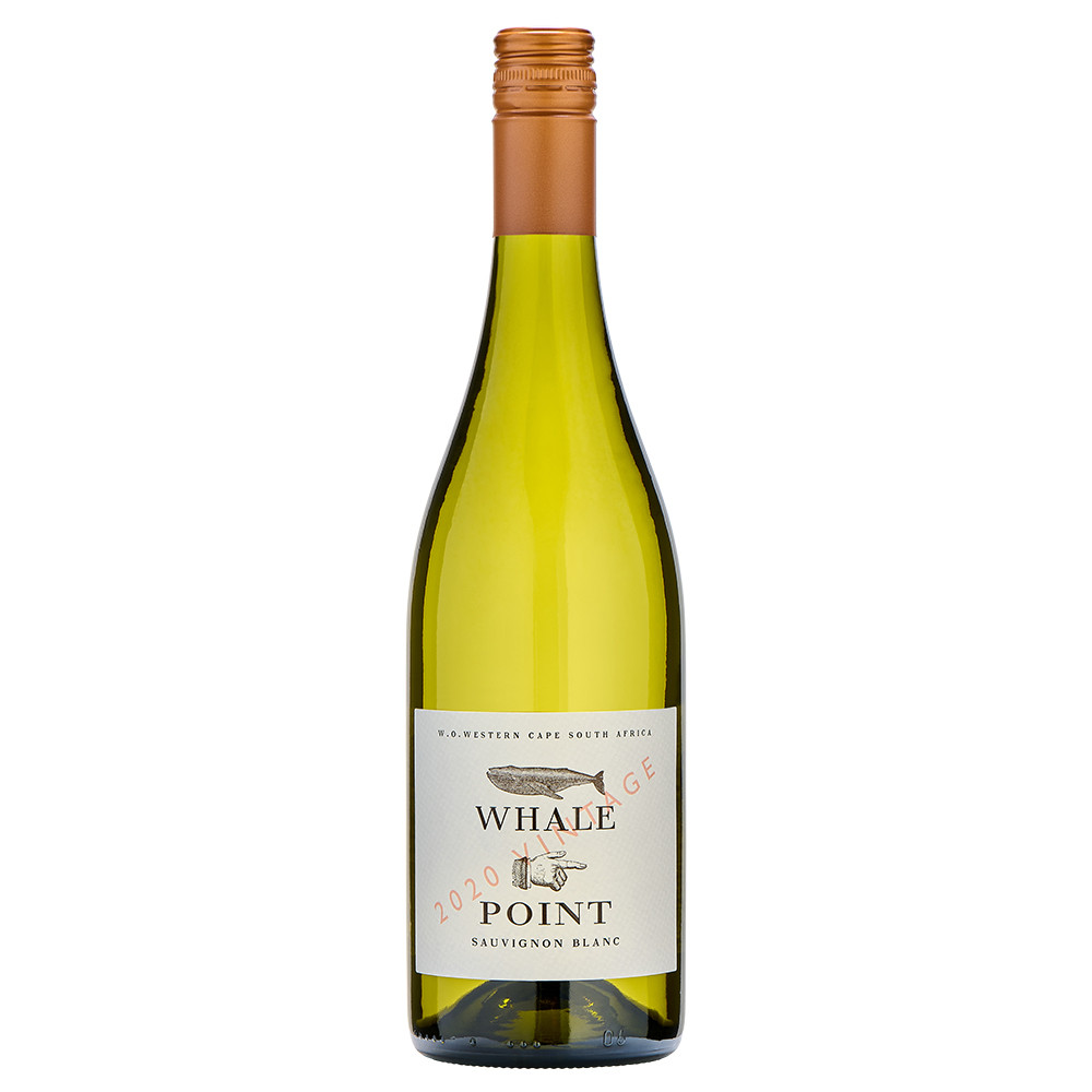 Whale Point Sauvignon Blanc, a dry, clean and crisp Sauvignon Blanc from the Western Cape of South Africa