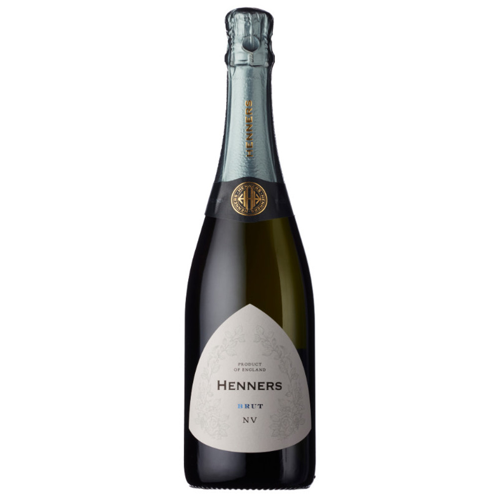 Henners Brut NV, English Sparkling wine highlights the brilliance of the Henners vineyard and winemaking skills.