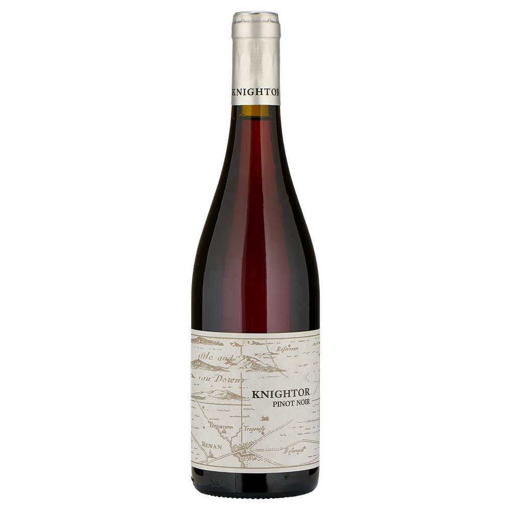 Knightor Pinot Noir 2018, the perfect English red wine to drink slightly chilled on a summers day