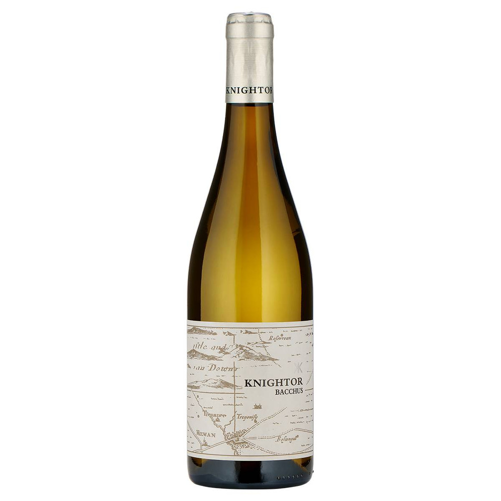 Knightor Bacchus 2019, a quintissentially English white wine heady with the scents of England in spring