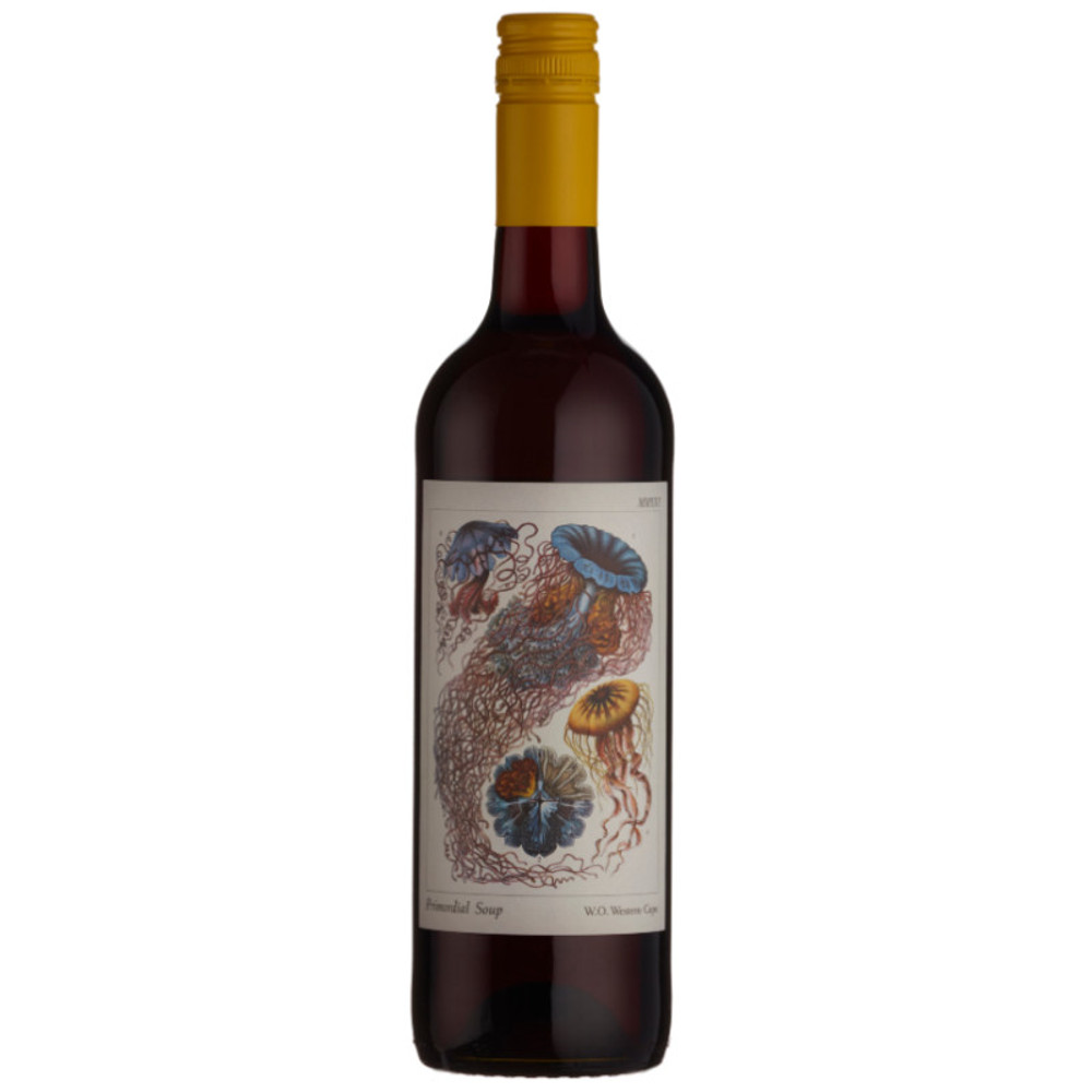 Primordial Soup Red Blend is an artful mix of classic South African varieties chosen and blended to perfection.