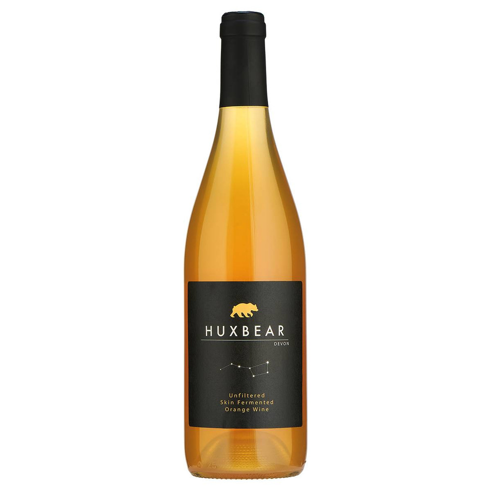 Huxbear Orange Wine is unfined, unfiltered, low sulphur and very, very good.