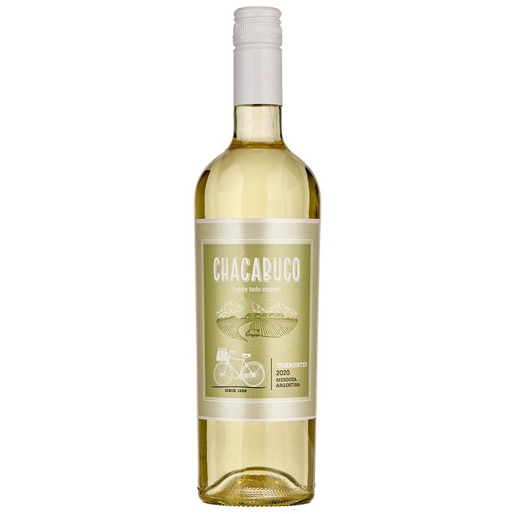 Chacabuco Torrontes is a dry Argentinian white wine with a nose of  peach, apricot and honeysuckle.