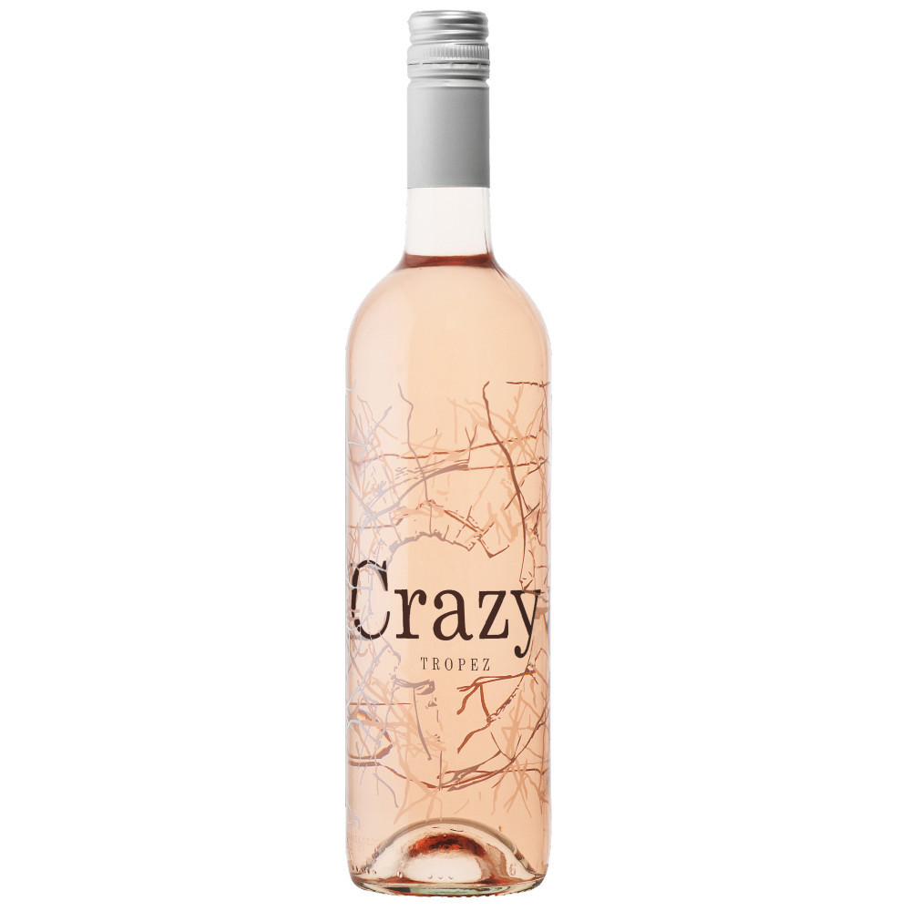 """Crazy Tropez Rosé is made by Grégoire Chaix, winemaker and owner of """"Bar du Port"""" in Saint-Tropez."""