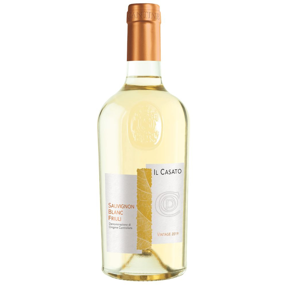 Il Casato Sauvignon Blanc Friuli is rich and elegant with a long lasting after taste