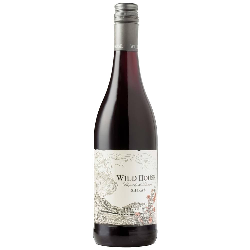 Wild House Shiraz, Western Cape 2020 is generous, full yet fresh with a seam of minerality from its sandy, granite provenance in the trellised Shiraz vineyards of Paarl.