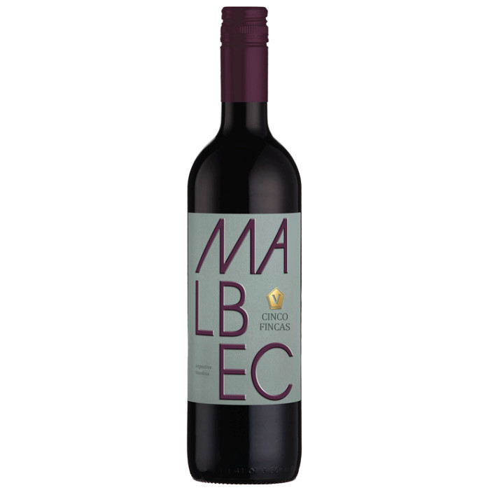 A bottle of superb 2020 Argentinian Malbec from Argentina