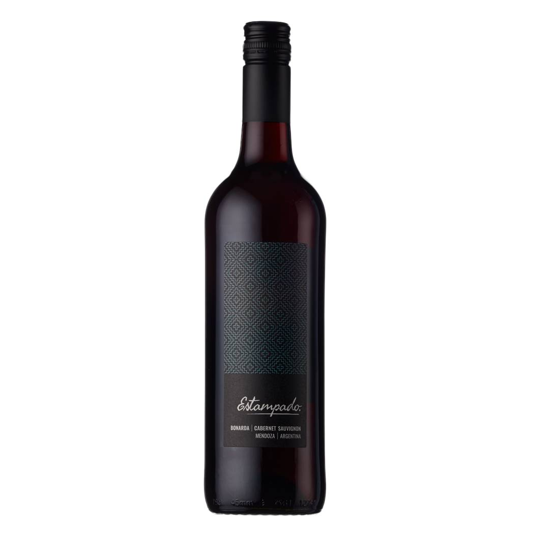 A smooth red wine blend from Argentina. The label is inspired by the strong graphic patterns of Argentine gaucho costumes.