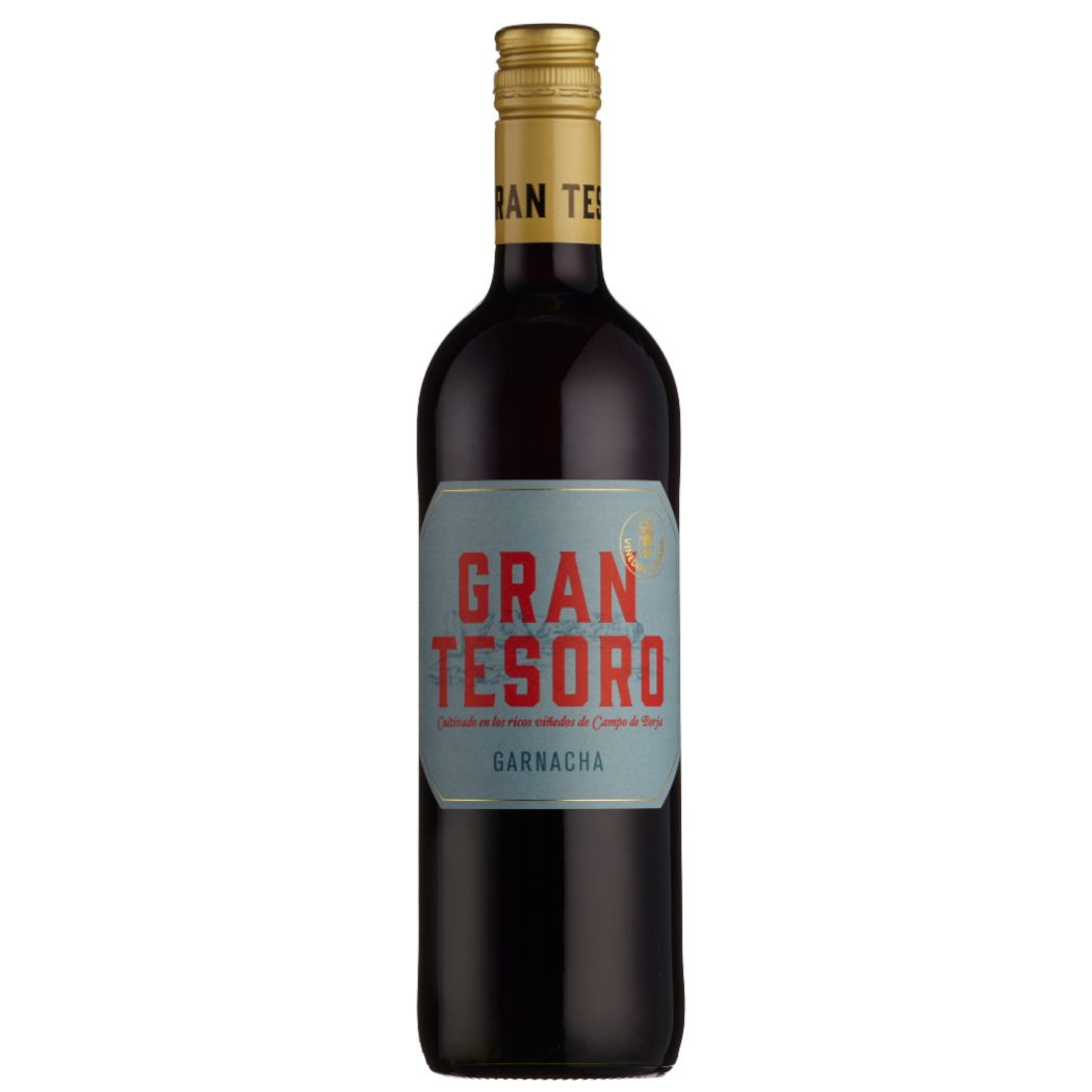 Gran Tesoro Garnacha 2019, easy drinking, Spanish red wine made by Jose Luis Chueca