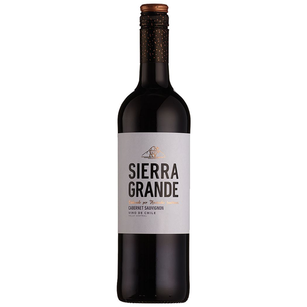 Sierra Grande Cabernet Sauvignon 2019 is a great value red wine from the Colchagua valley in Chile.