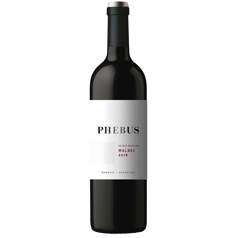 Phebus Malbec, this rich red comes from one of Argentina's top wineries where Hervé J Fabre crafts his award-winning wines.