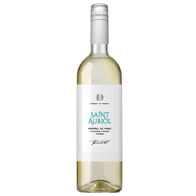Picpoul de Pinet, Saint Auriol 2019 shows citrus and blossom flavours, ending on a refreshing hint of delicate bitterness. It is brought to life accompanied by oysters!