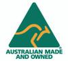 Australian Made logo - https://www.facebook.com/soapdevilla/