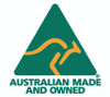 Australian Made logo - https://www.australianmade.com.au/why-buy-australian-made/about-the-logo/