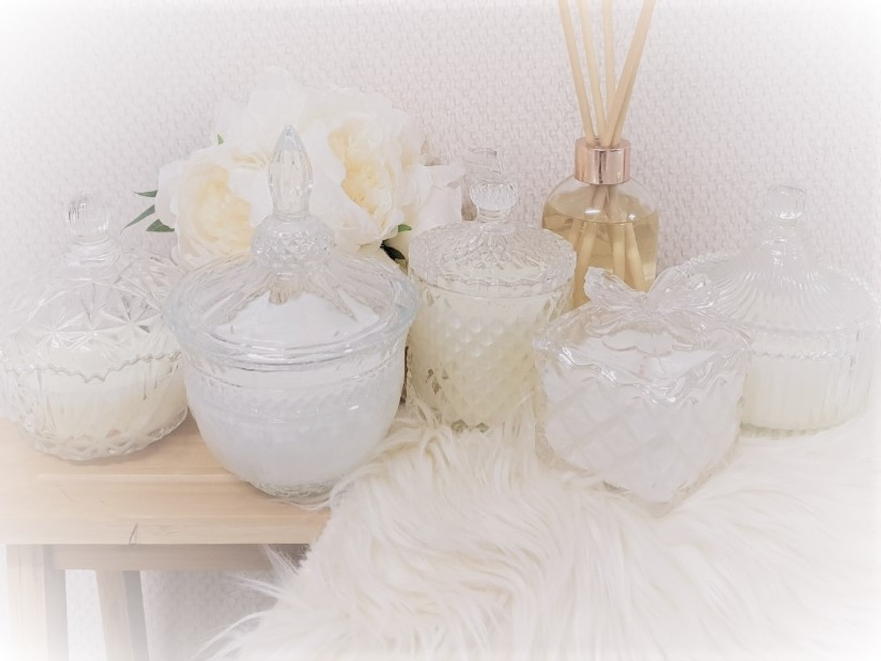 Crystal Candle range