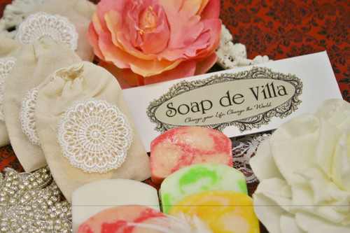 "Soap de Villa Mini Soap - ""My Fair Lady"""