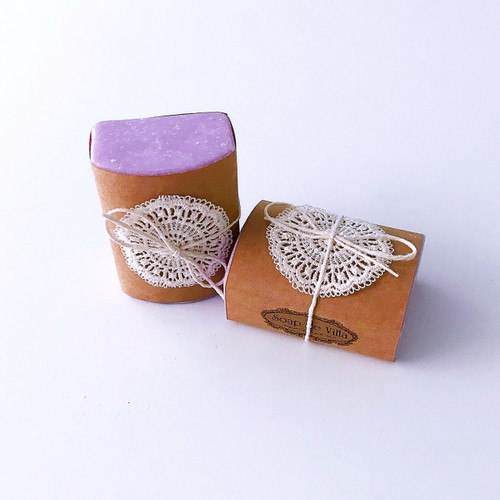 Soap de Villa Large Goats Milk Soap - Country Lavender