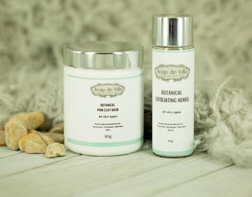 SDV Botanical Skincare range