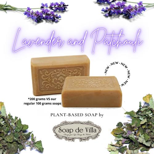 Plant Based Soap - lavender & patchouli