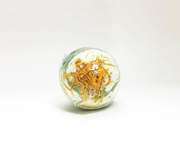 "Soap de Villa Botanical Essential Oil Bath Ball - ""Lemon & Green"""