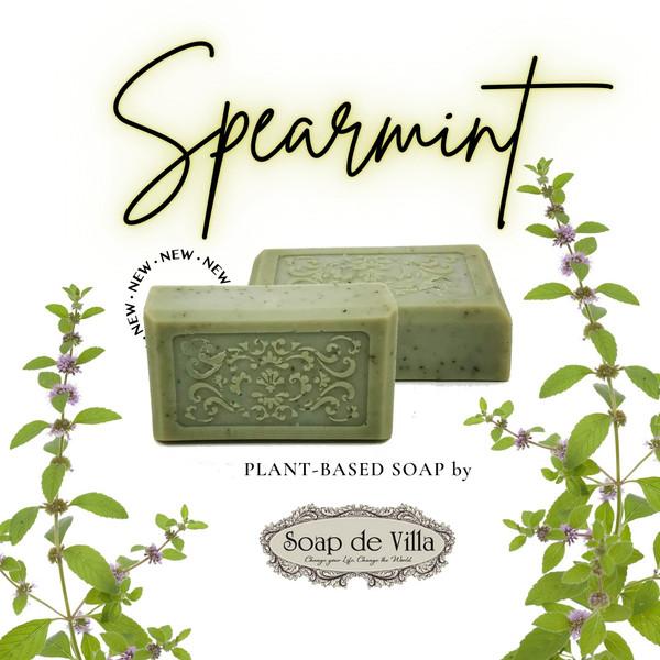 Plant Based Soap - spearmint