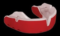 Opro Gold Mouthguard - Red/White