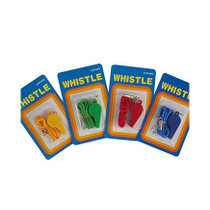Whistle Plastic With Lanyard