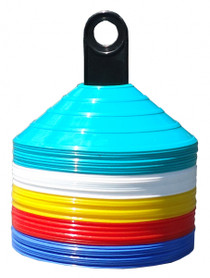 50 x Disc Cone Marker Set