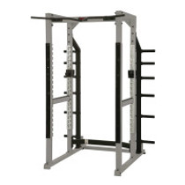 York Power Rack with Hook Plates