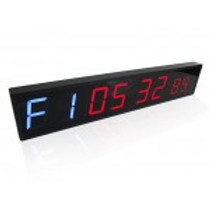 Interval Timer - 8 Digit + Clock