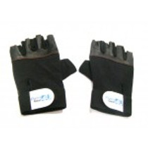 Weight Lifting Leather Gloves Large