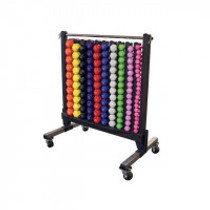 York Vinyl Dipped Dumbbell Storage Rack